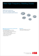 ABB high frequency welding diodes product brief