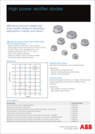 ABB high power rectifier product brief