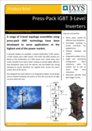 Ixys IGBT inverter product brief