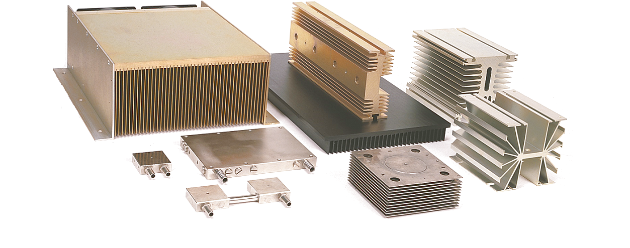 Thermal management heatsinks slide