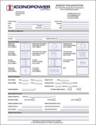 power assemblies rfq form