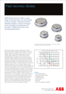 ABB fast recovery didoe product brief
