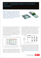 ABB IGBT module product brief