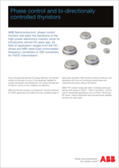 ABB phase control thyristors product brief