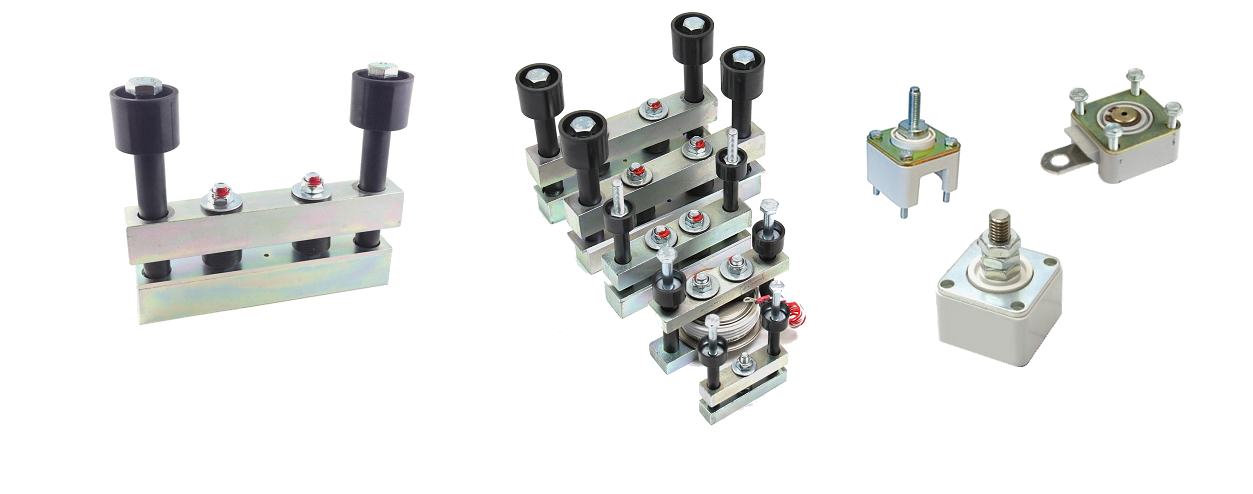 Semiconductor bar clamps slide