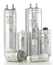A.C. & D.C. electronic capacitors