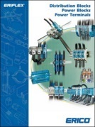 Erico distribution blocks, power blocks and power terminals catalogue
