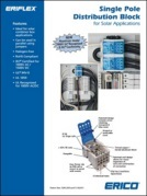 Erico distribution block catalogue