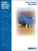 Erico solar power solutions catalogue