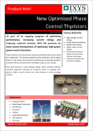 Ixys phase control thyristor product brief