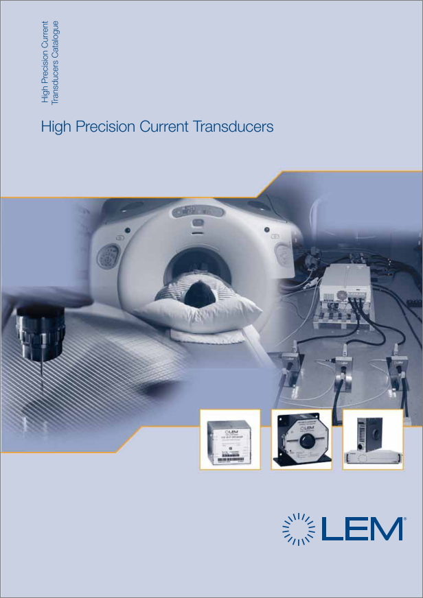 LEM high precision current transducer catalogue